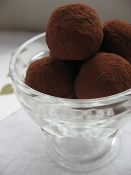 チョコレートトリュフ