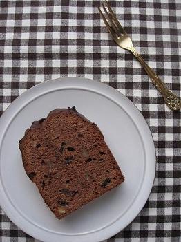 ココアのパウンドケーキ