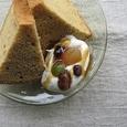 黄な粉のシフォンケーキ