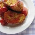 トマトのフレンチトースト