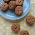 ボタン風ジャムサンドクッキー