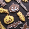 かぼちゃのアイシングクッキー