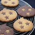 かぼちゃとココアのクッキー