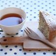 紅茶と洋ナシのケーキ