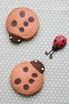 てんとうむしのクッキー