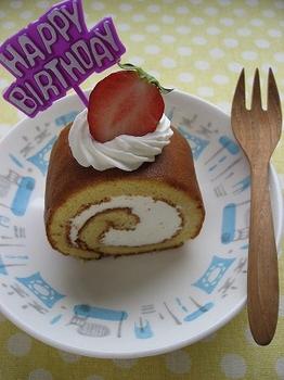 はちみつロールケーキ