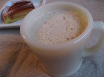 黒糖しょうがミルク
