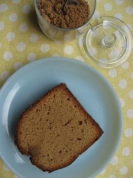 黒糖のパウンドケーキ