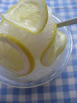 はちみつレモンかき氷