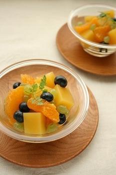 フルーツのサラダ